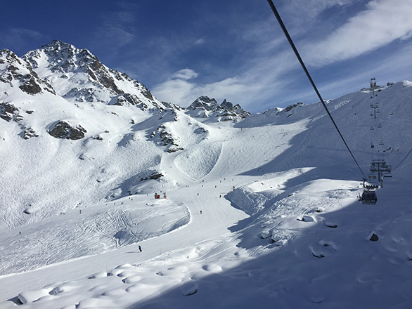 Verbier slopes